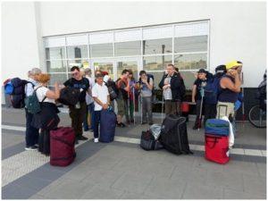BlinDZ - ekipa przed wyjazdem