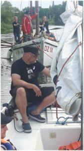 BlinDZ - łódki na holu